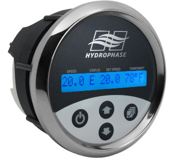 hydrophase ridesteady wakeboard boat speed control