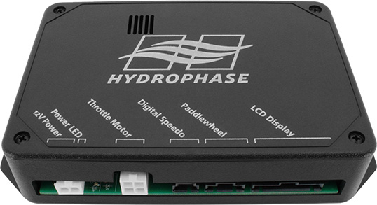 hydrophase ridesteady wakeboard boat speed control CPU
